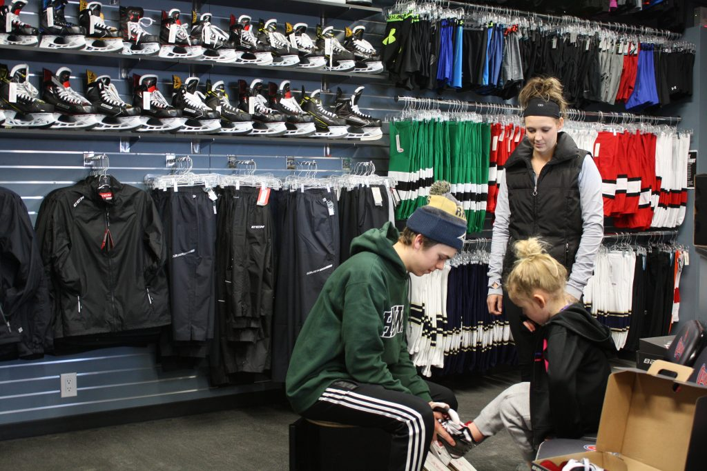 In Store Skate Fitting