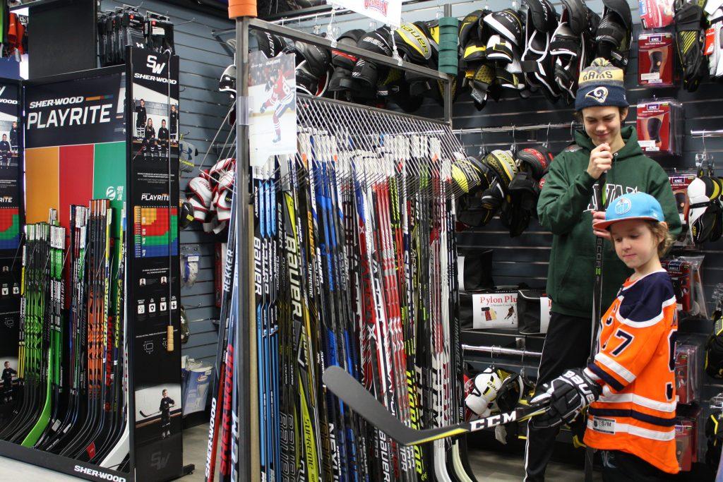 Hockey Stick Help